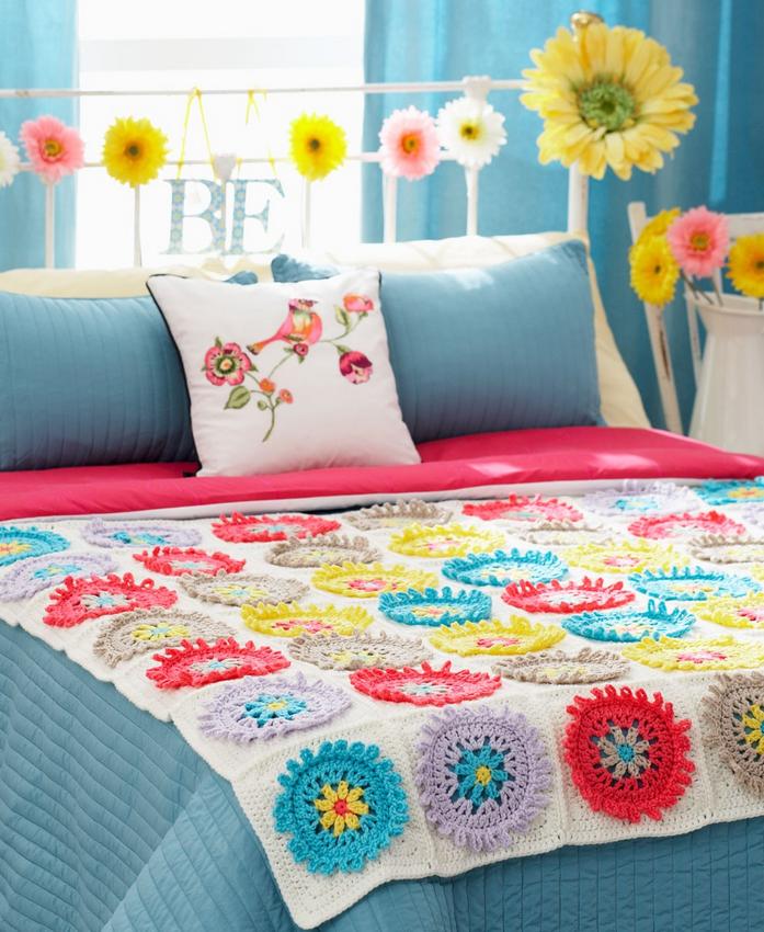 Flower Crochet Granny Squares