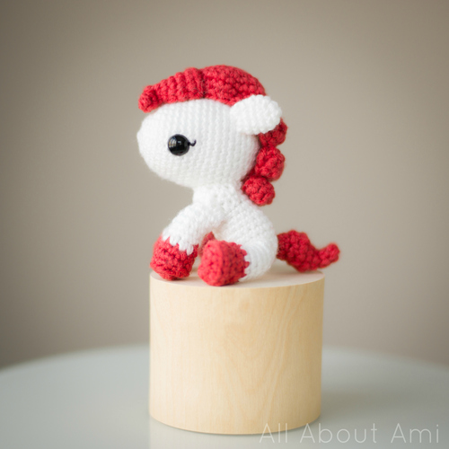 Amigurumi Pony : Amigurumi Pony Pattern - Stitch and Unwind