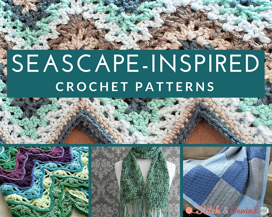 Seascape-Inspired Crochet Patterns