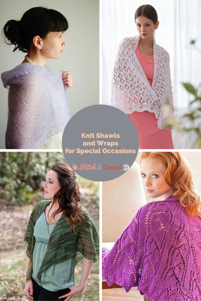 S&U - Knit Shawls and Wraps for Special Occasions