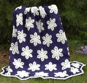 The Cold Never Bothered This Cozy Afghan