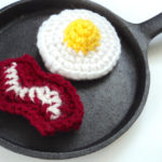 Mini Eggs and Bacon Plushies Set