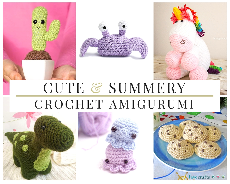 32 Cute & Summery Crochet Amigurumi