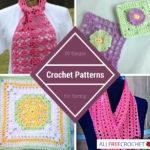 20 Simple Crochet Patternsfor Spring