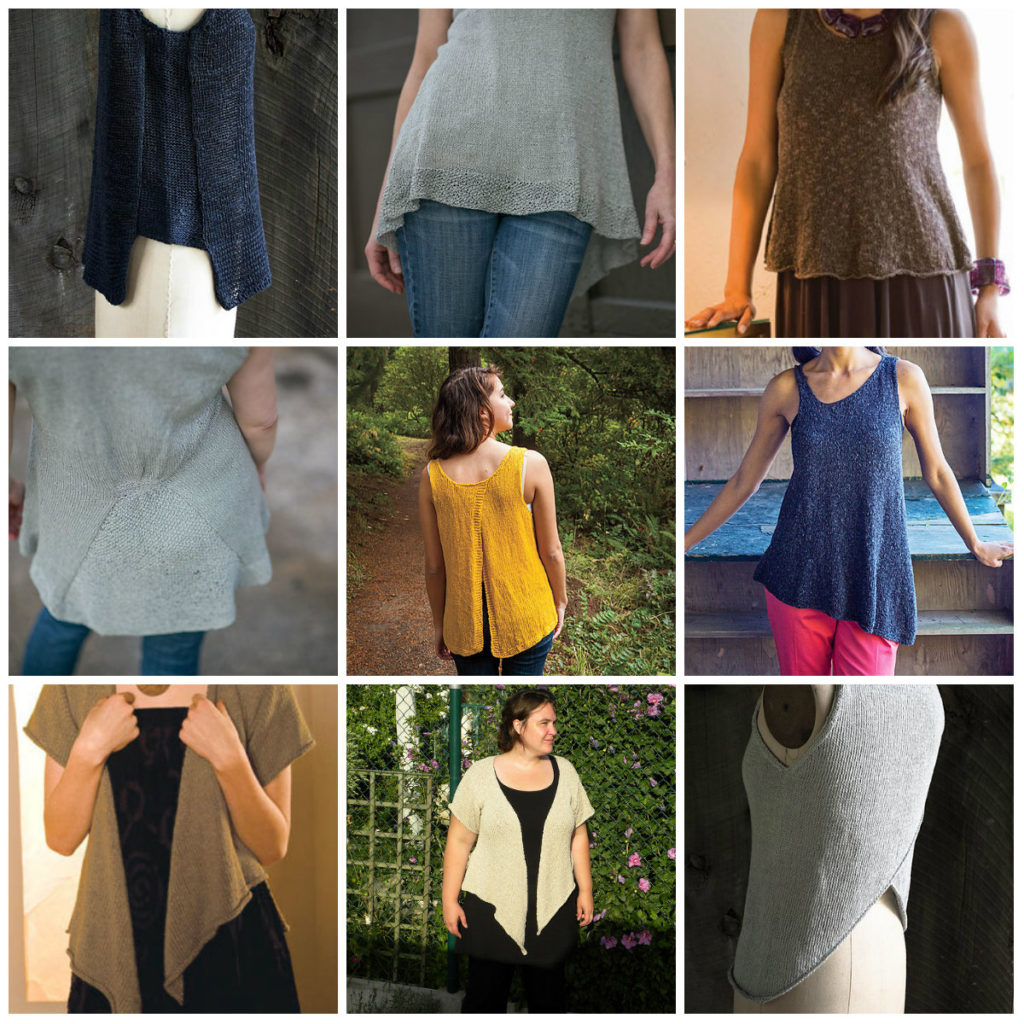 In Love with Linen Yarn: Knitting Patterns for Linen Yarn - Stitch ...