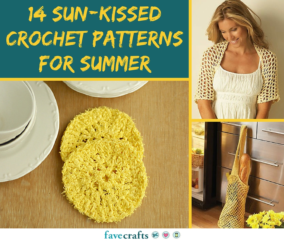 14 Sun-Kissed Crochet Patterns for Summer