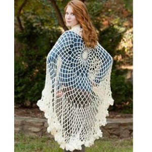 30 lacy crochet shawl patterns stitch and unwind flowing angelic shawl dt1010fo