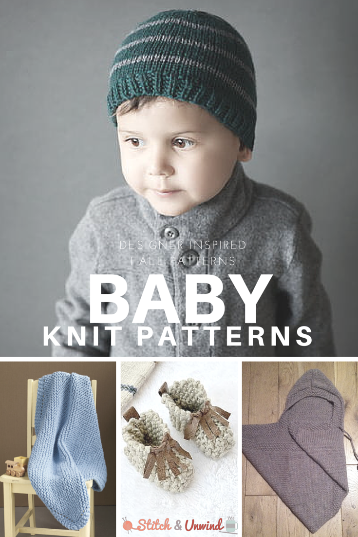 Designer Knit Baby Patterns For Fall Stitch And Unwind