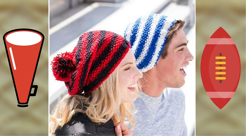 Let s Go! Slouchy Knit Hat Pattern from Red Heart - Stitch and Unwind 452ee7fd92f4