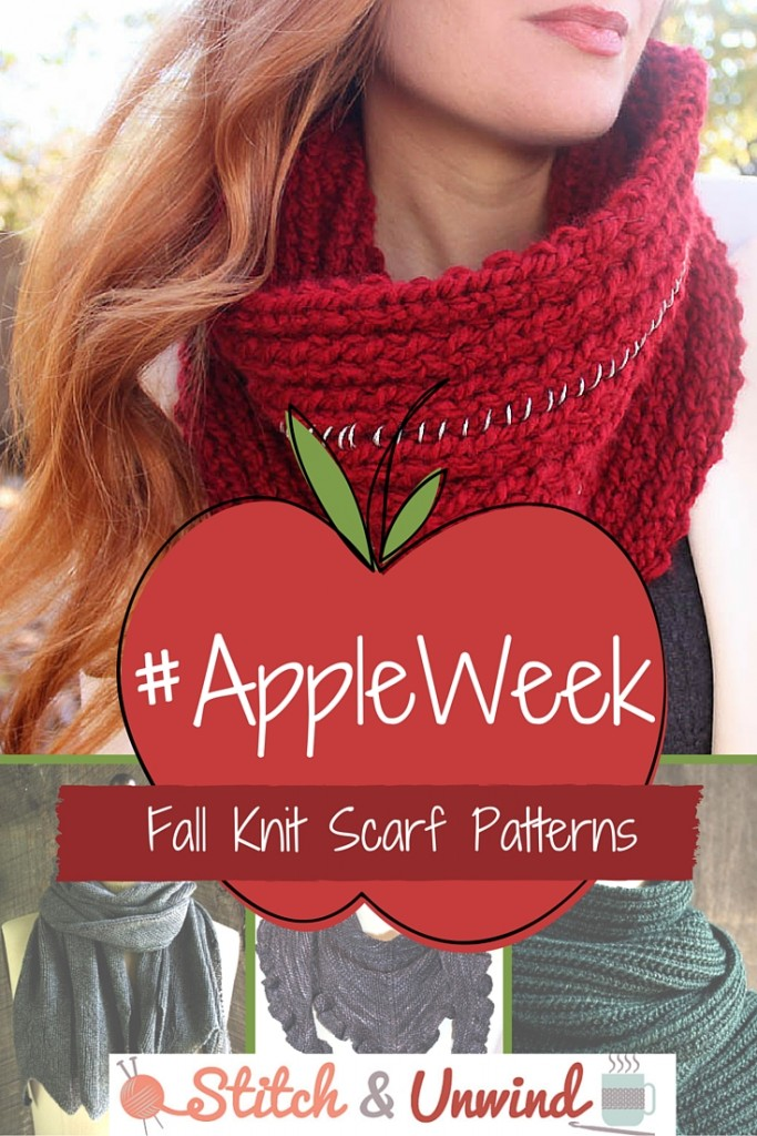 11 Fall Knit Scarf Patterns To Go Apple Picking In Stitch And Unwind
