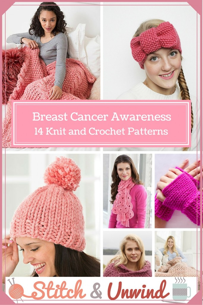 Consider, pattern for breast cancer symbol mittens think