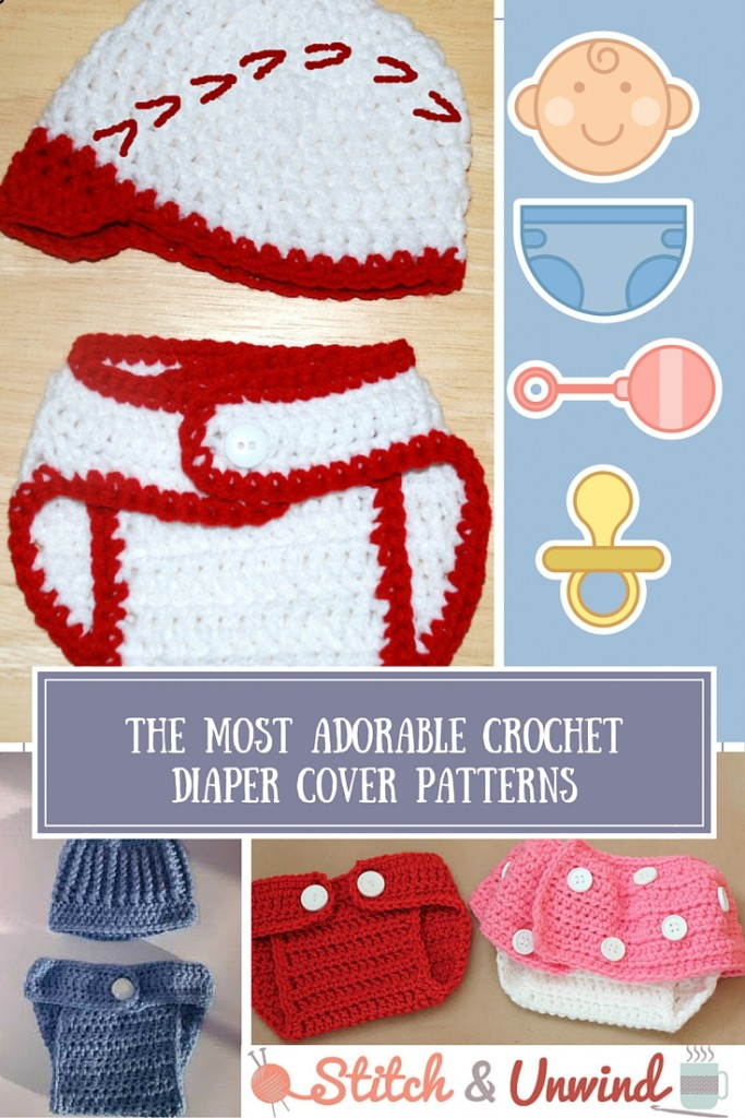 The Most Adorable Crochet Diaper Cover Pattern More Free Patterns