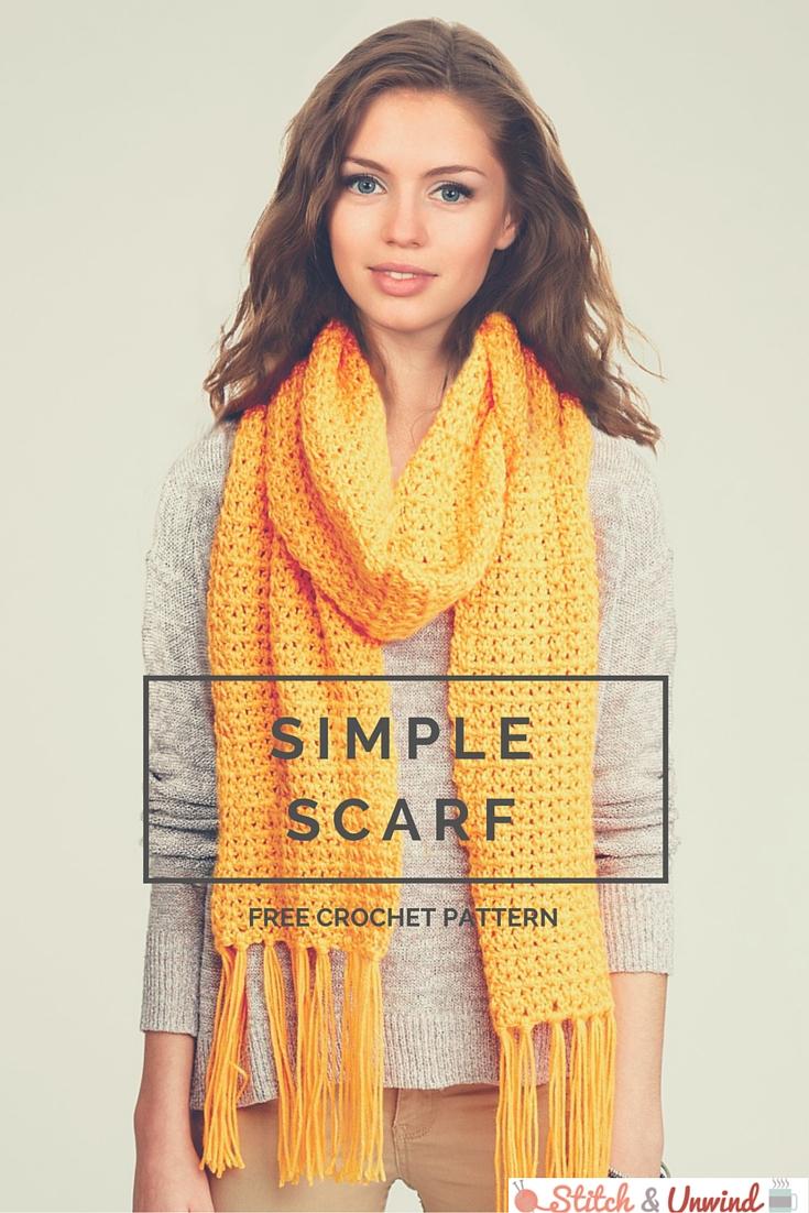 Free Pattern Friday: Crochet Scarf Pattern from Yarnspirations