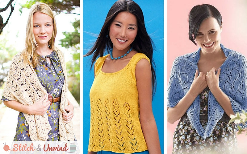 424299d4796a9 26 Light and Lacy Knitting Patterns for Summer - Stitch and Unwind