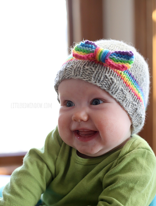 Rainbow Dreams Baby Hat - Stitch and Unwind af6b409d495